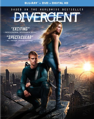 Divergent(Blu-Ray disc, a DVD and a digital UV download certificate )