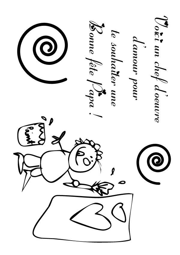 Coloriage Carte Fete Des Peres Coloriages Coloriage à Imprimer