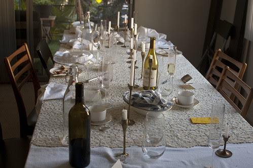 the aftermath, dining room
