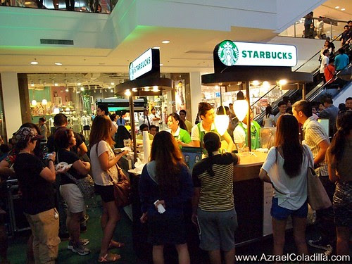 Starbucks Reward Card launch @ Glorietta - photos by Azrael Coladilla