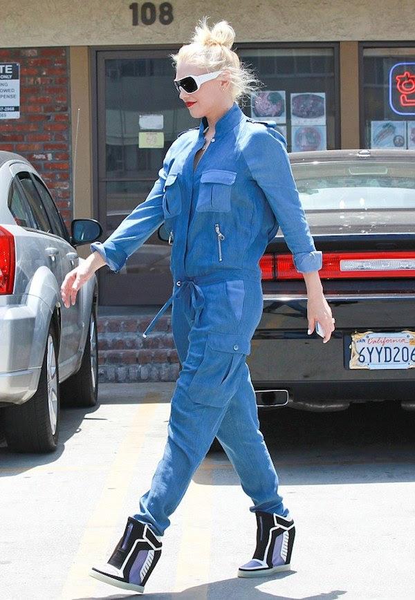Gwen Stefani's L.A.M.B Freeda Wedge Sneakers