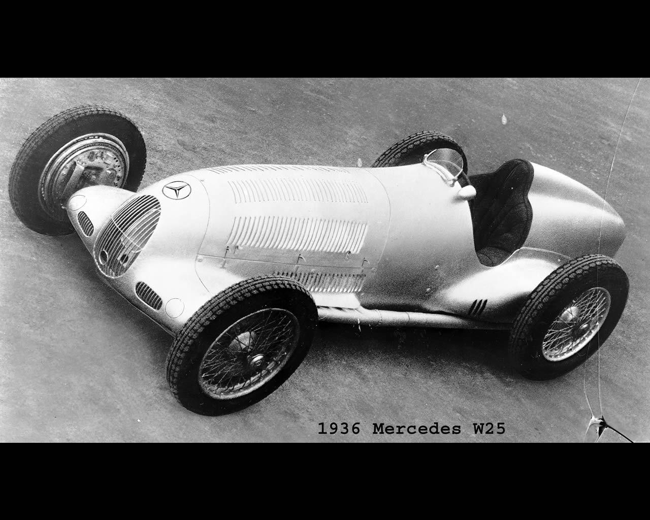 Mercedes Silver Arrow W25 1934 1936