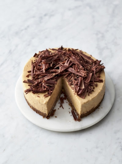 Frozen Banoffee Cheesecake Chocolate Recipes Jamie Oliver Recipes