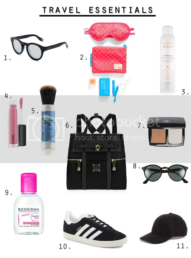 fashion and beauty travel essentials