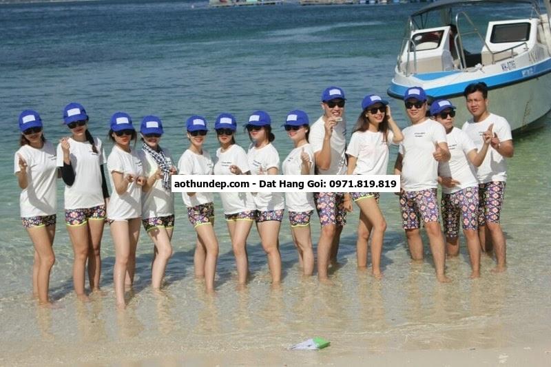 đồng phục nhóm đi biển
