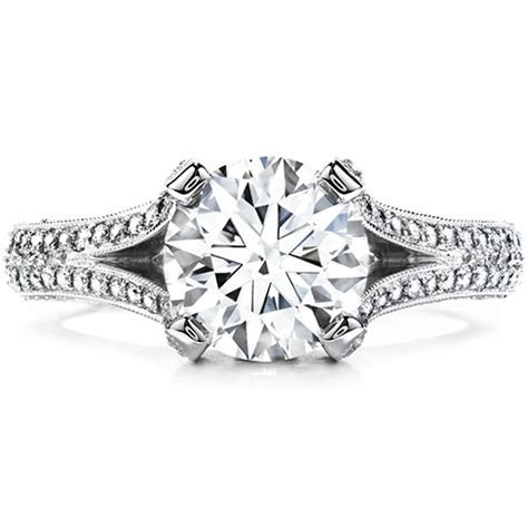 Wondrous Split Shank Engagement Ring