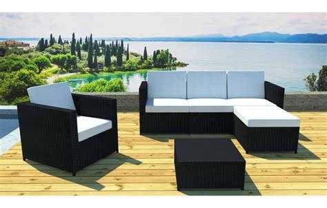salon de jardin complet modulable  places avec table