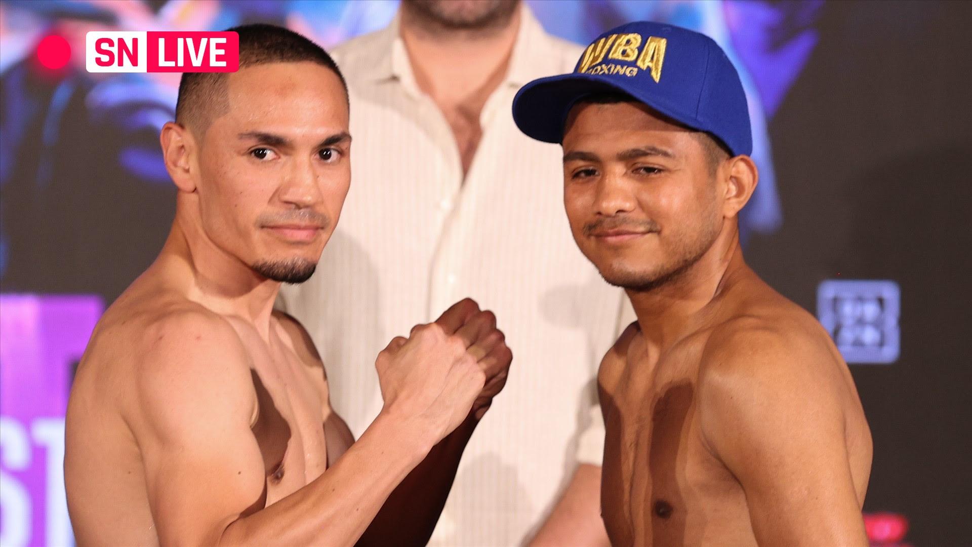 Estrada vs. Chocolatito 2: Live updates, results & highlights from the full Juan Francisco Estrada-Roman Gonzalez card