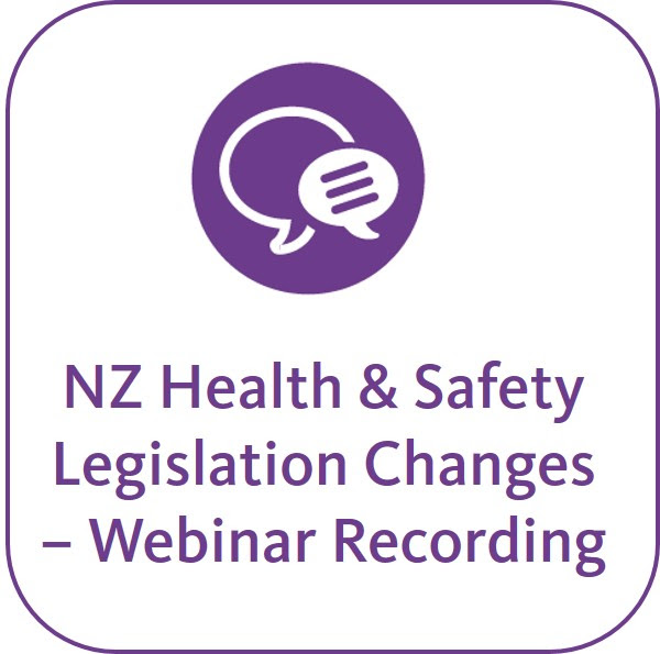 Important Changes to New Zealand's Health and Safety ...