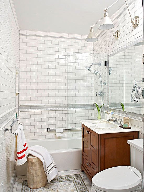 15 Small Bathroom Designs You'll Fall In Love With