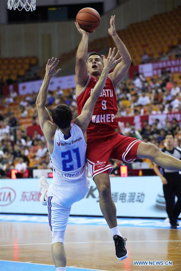 (SP)CHINA-SHENZHEN-BASKETBALL-STANKOVIC CONTINENTAL CUP 2017-DAY 1 (CN)