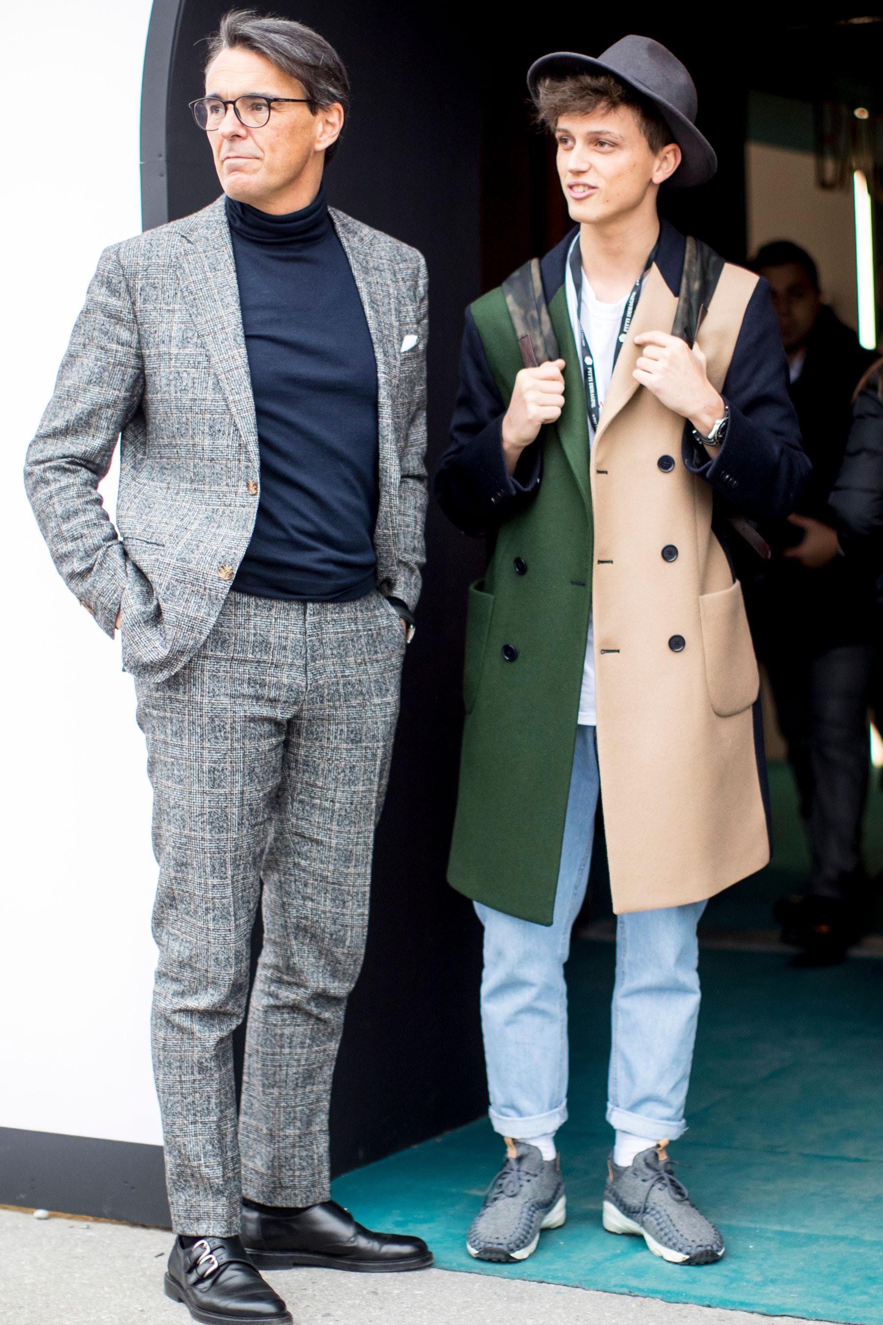 Street Style at Pitti Uomo Men's Fashion Week Fall Winter ...