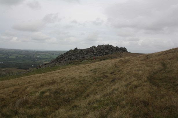 Carn Goedog in the Preseli Hills - where stones used at Stonehenge came from, according to new research