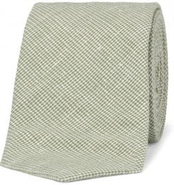 Alexander Olch Slim Houndstooth Cotton Tie