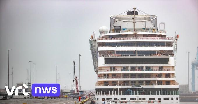 Zeebrugge verwelkomt eerste cruiseschip sinds begin coronacrisis