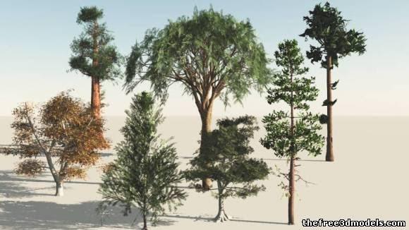عمل الأشجار في 3d max وفوتوشوب بأستخدام الصور
