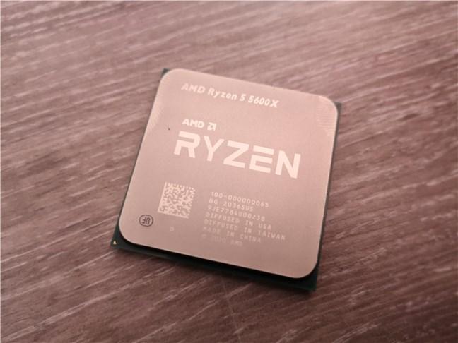 El procesador de escritorio AMD Ryzen 5 5600X