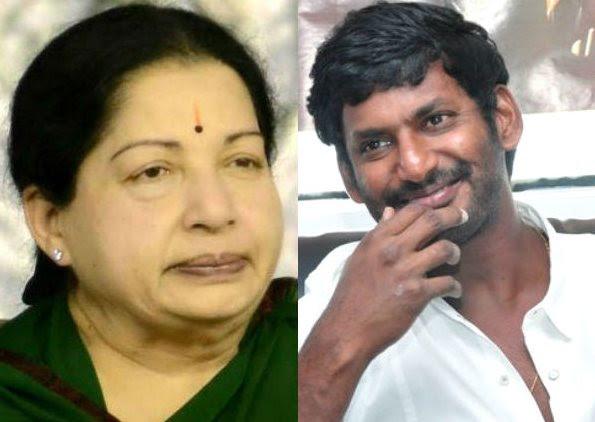 Did Vishal disrespects Amma (CM Jayalalitha)