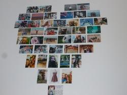 Diy Wall Heart Collage Inspired By Macbarbie07 Sweet Girls Life