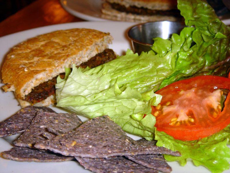 Home-made Veggie Burger