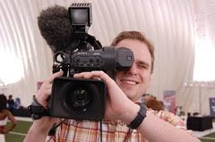 Fake TV photographer