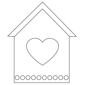 500 Top Free Coloring Pages Of Bird Houses , Free HD Download