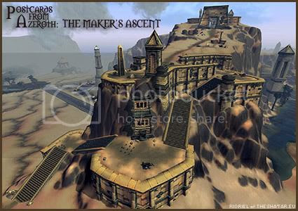 Postcards of Azeroth: The Maker's Ascent, by Rioriel of theshatar.eu