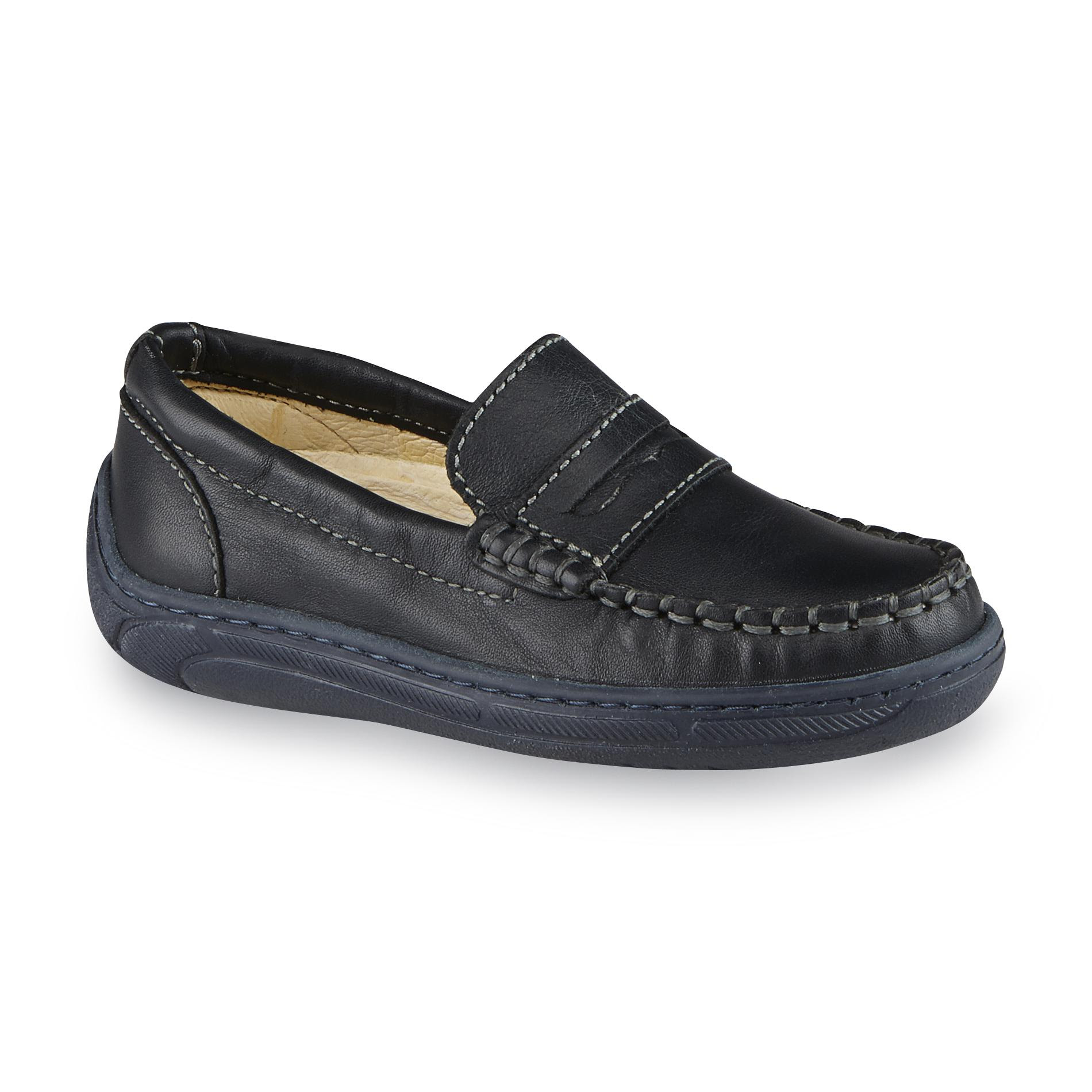 Primigi Toddler Boy's Choate Leather Penny Loafer - Navy ...