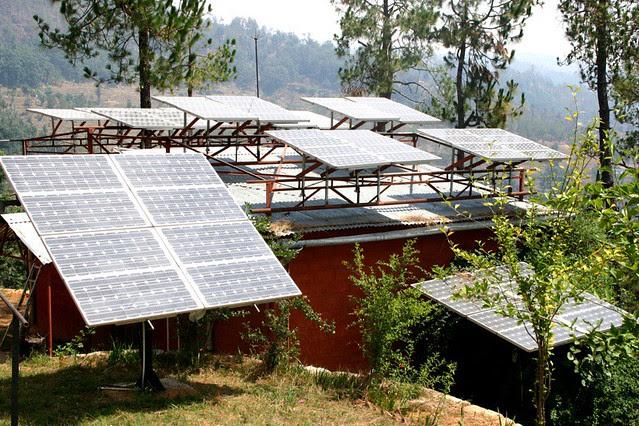 Solar panels in Uttaranchal