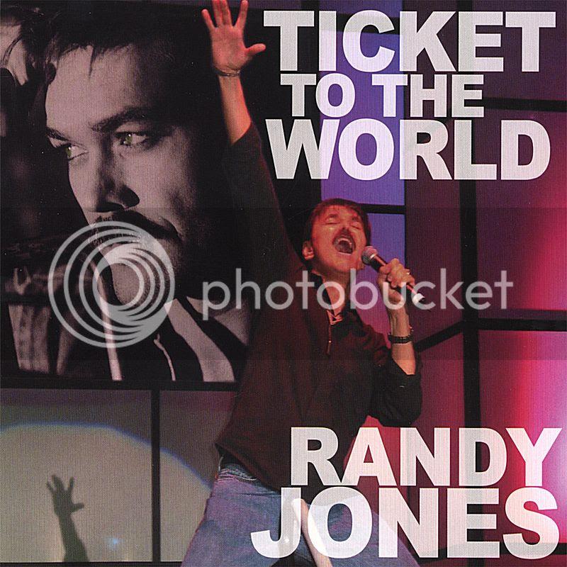 Randy Jones  Ticket to the World