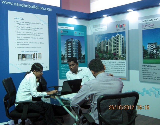 Nandan Buildcon (www.nandanbuildcon.com) - Exhibition of Properties in Hinjewadi, Wakad, Baner, Balewadi & Bavdhan! - PROFEST WEST 2012 by CREDAI Pune Metro on 26 - 27 - 28 October 2012 at VITS Hotel, Balewadi, Pune