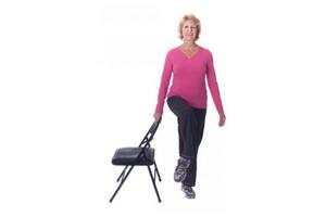 balance on chair
