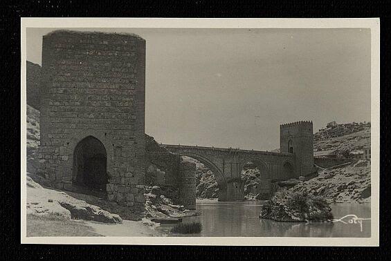 Baño de la Cava (Toledo) a principios del siglo XX. Foto Loty