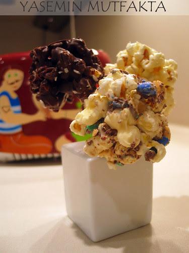 Cikolatali Popcorn
