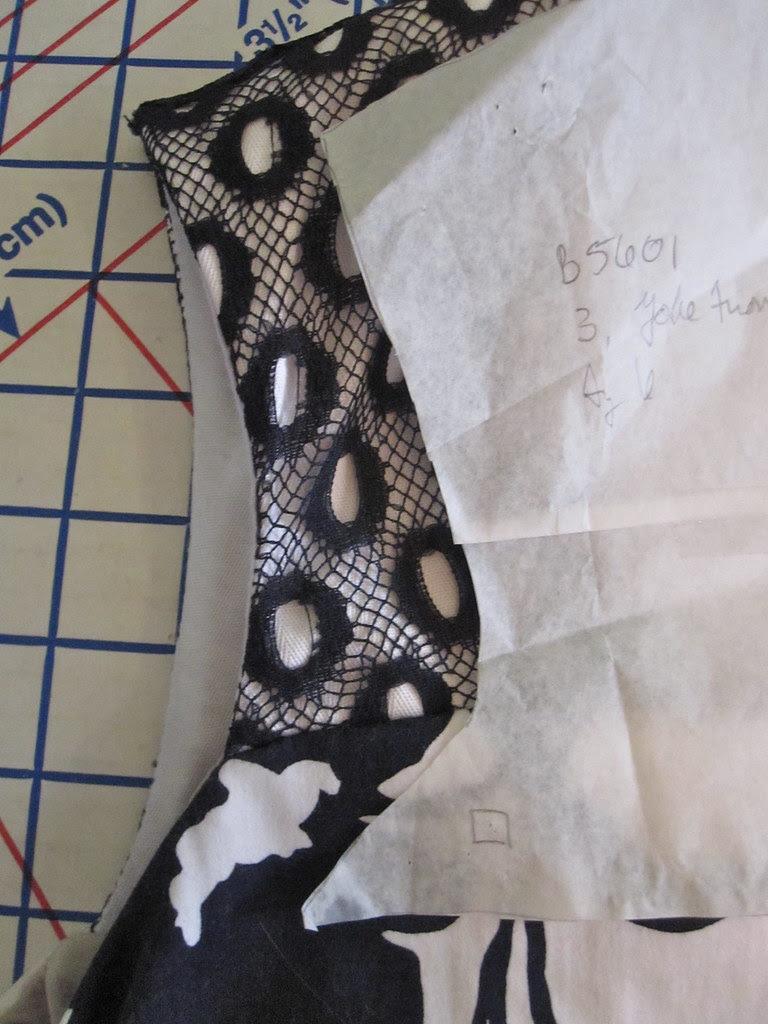 Upper Bodice Pattern Shape