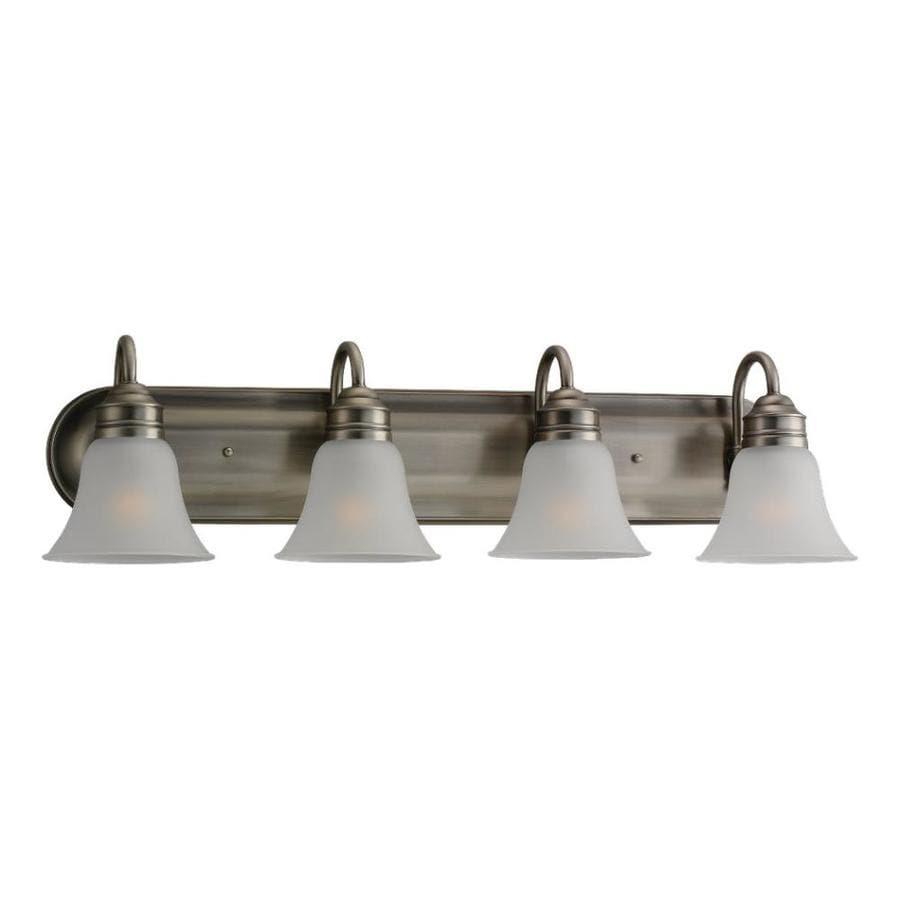 Shop Sea Gull Lighting 4-Light Gladstone Antique Brushed ...