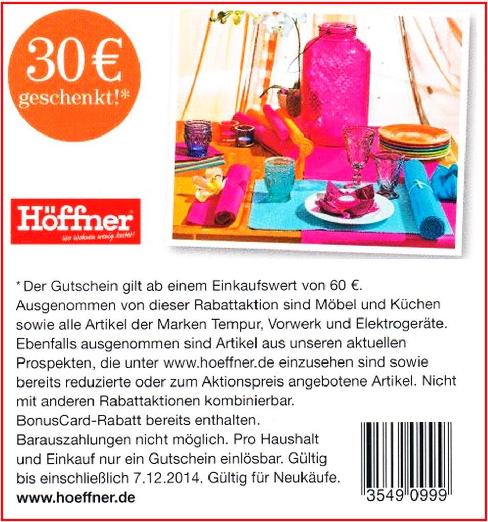 Möbel Höffner 30 Sofort Rabatt Coupon Ab 60 Mew 2210 0712