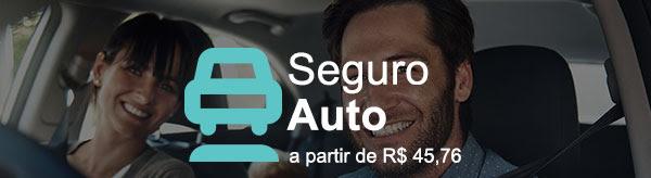 Seguro Auto -  a partir de R$ 45,76