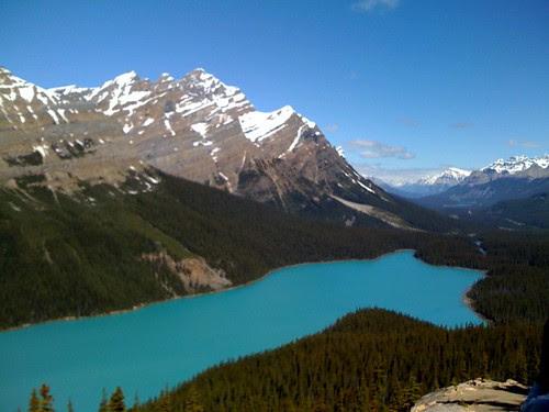 Lake that Looks Like Fox (iPhone)
