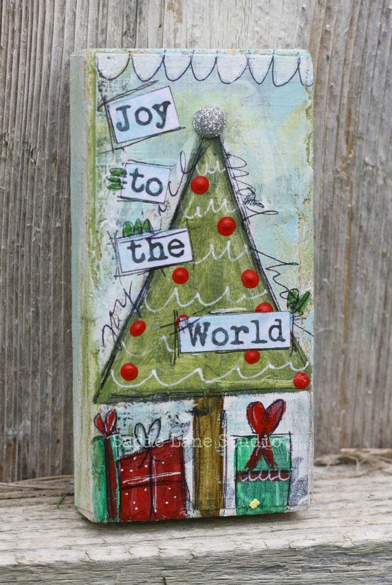 Mixed Media Christmas