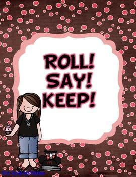 Roll Say Keep!