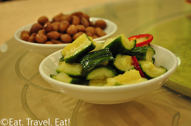 Marinated Cucumber and Stewed Peanuts