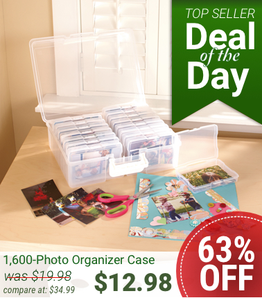 Daily Deal Preserve Holiday Memories With A Photo Organizer