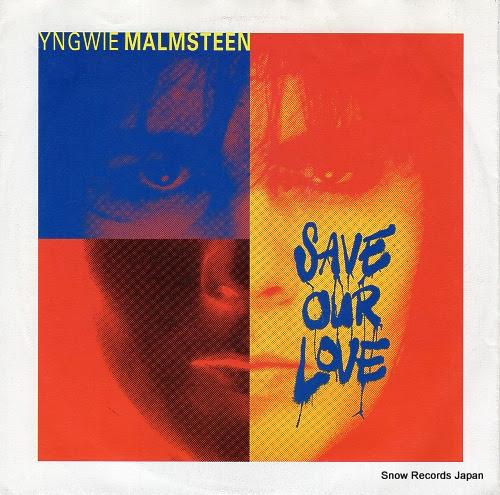 イングヴェイ・マルムスティーン / MALMSTEEN, YNGWIE J. - save our love - 877-598-7