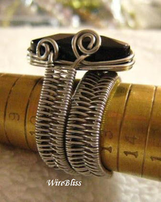 Woven ByPass Ring
