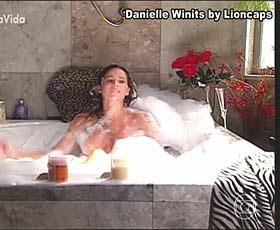 Danielle Winits super sensual na novela Páginas da Vida