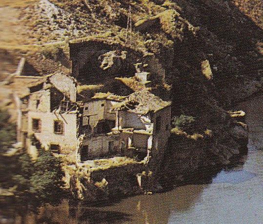 Casa del Diamantista derruida en los años 60