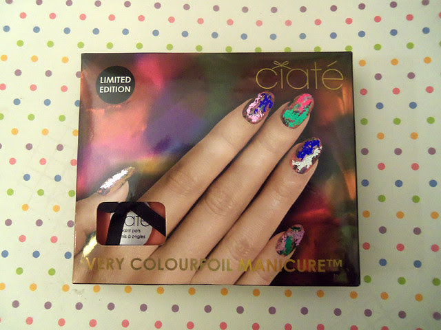 The Very colourfoil manicure by Ciatè 5