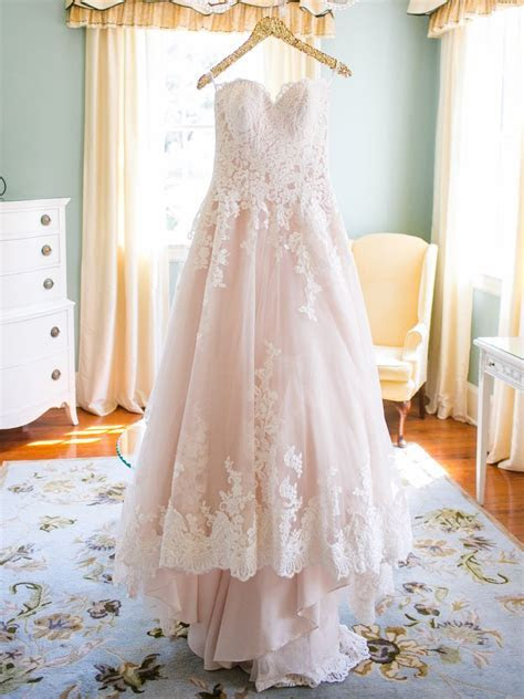 28 Gorgeous Blush and Light Pink Wedding Dresses   Wedding