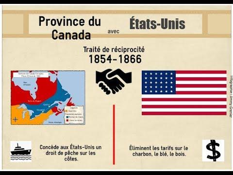 HQC4 - La formation du régime fédéral canadien - 2 - Économie coloniale